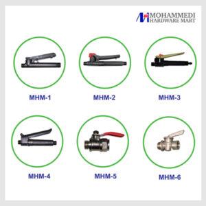 Trigger / brass / Nozzles accessories