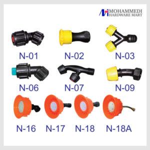 Nozzles accessories set 2